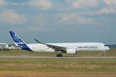 Airbus A350-900 Imagens de Stock