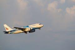 Airbus319 Imagem de Stock Royalty Free