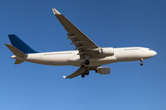 Airbus A330 Fotografía de archivo libre de regalías