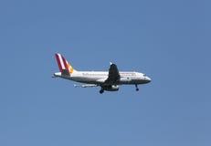 Airbus A319 Imagenes de archivo