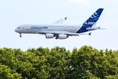 a380 airbus Στοκ Εικόνες