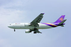 Airbus a300 HS-TAZ thaiairway Royalty Free Stock Photos