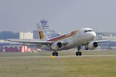 Airbus A319 Fotografia Stock Libera da Diritti