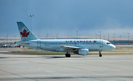 Airbus A319 Canada Air Royalty Free Stock Images