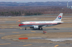 Airbus A319 de la Chine oriental Photo libre de droits