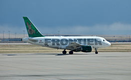 Airbus A319 Frontier Air Stock Photo