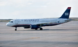Airbus A319 US Airways Stock Photo