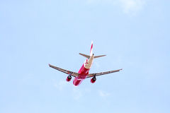 Airbus a320-200, thaiairasia. Lowcost airline in thailand Royalty Free Stock Photos