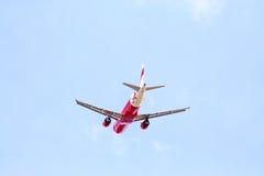 Airbus a320-200, thaiairasia Fotos de Stock Royalty Free