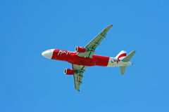 Airbus a320-200, thaiairasia. Lowcost airline in thailand Stock Photos