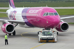 Airbus A320 - Wizzair Royalty Free Stock Photos
