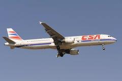 Airbus A321-211 Lizenzfreies Stockfoto