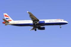 Airbus A321-231 lizenzfreie stockbilder