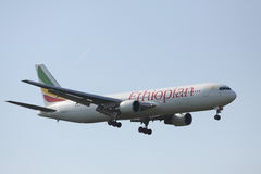 Airbus A330. The airbus A330 of Ethiopian airlines royalty free stock photography