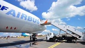 Airbus A330-200F a Singapore Airshow 2010 Immagine Stock Libera da Diritti