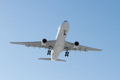 Airbus A330-300 on final approach Stock Image