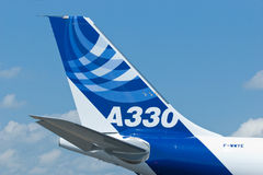 Airbus A330 at Singapore Airshow Royalty Free Stock Images