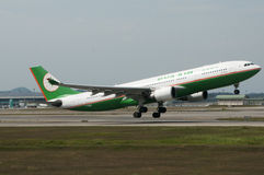 Airbus A330 Take Off Royalty Free Stock Photo