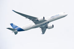 Airbus A350-900 @ Singapore Airshow 2014 Royalty Free Stock Image