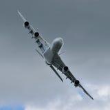 Airbus A380 stockfotografie