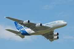 Airbus A380 Stock Photos