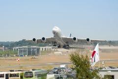 Airbus A380 Fotos de Stock
