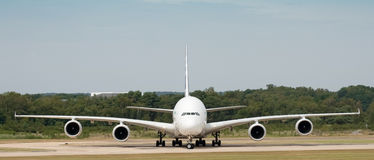Airbus A380 Imagens de Stock Royalty Free