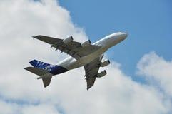 Airbus A380 Imagenes de archivo