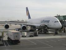Airbus A380 Royalty Free Stock Photos
