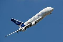 Airbus A380 Imagem de Stock Royalty Free