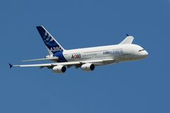 Airbus A380 Royalty Free Stock Photo