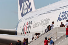 The Airbus A380 Stock Image