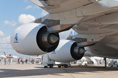The Airbus A380 Royalty Free Stock Images