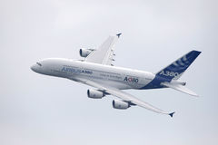 Airbus a380 Photographie stock