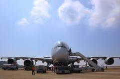 Airbus A380 Fotografie Stock Libere da Diritti