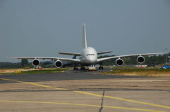 Airbus A380. At ILA in Berlin Stock Image