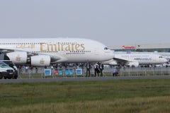 Airbus A380 e A320 Fotos de Stock