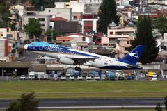 Airbus ADDOMESTICATO A320 immagine stock libera da diritti