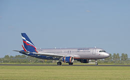 Airbus A320 Aeroflot  VQ-BST Stock Photo