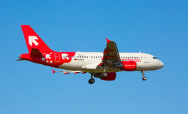 Airbus A-319 Air Berlin Royalty Free Stock Photos