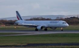 Airbus 320 Air France Στοκ φωτογραφίες με δικαίωμα ελεύθερης χρήσης