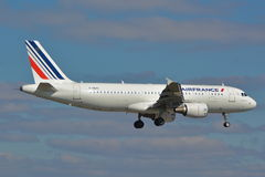Airbus A320 Air France Imagem de Stock Royalty Free