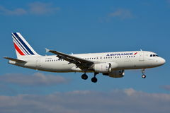 Airbus A320 Air France Photo stock