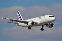 Airbus A320 Air France Imagem de Stock