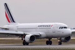 Airbus Air France A319 Στοκ εικόνα με δικαίωμα ελεύθερης χρήσης
