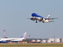 Airbus A320-233 Air Moldova Royalty Free Stock Image