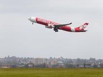 Airbus A330-343 AirAsia Foto de Stock