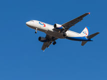 Airbus A320, airlines Ural Airlines Royalty Free Stock Images