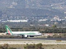 Airbus A-320-216 Alitalia Imagens de Stock