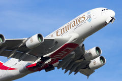 Airbus A380-861 Royalty Free Stock Photo
